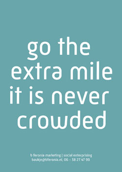 go the extra mile order yours